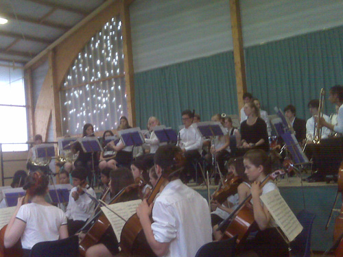 CYO at the Salle des Fêtes