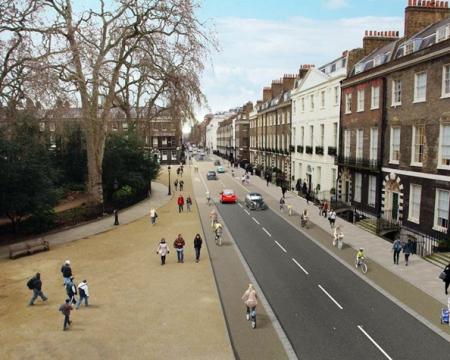Gower Street / Bloomsbury Street